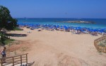 Пляж Fig Tree Bay на Кипре